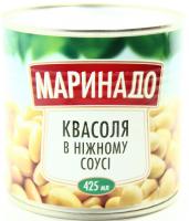 Квасоля Маринадо в ніжному соусі з/б 425мл
