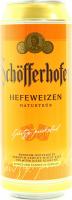 Пиво Schofferhofer пшеничне 0,5л ж/б