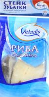 Зубатка Veladis стейк морожений глазурований 1000г