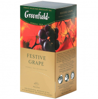 Чай Greenfield Festive Grape 25*1,5г