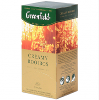 Чай Greenfield Creamy Rooibos 25*1,5г