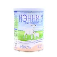 Суміш Ненні 2 молочна з пребіотиками з 6міс.400г х12