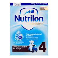 Суміш Nutricia дитяча Nutrilon Premium+ молочна 18м.+ 4 600г х