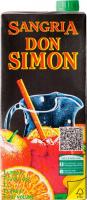 Вино Don Simon Sangria Сангрія червоне солодке 7% 1л B&B
