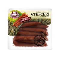 Ковбаски Бащинський Єгерські ш/о н/к 1ґ 0.24кг х6