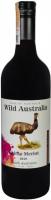 Винo Wild Australia Shiraz Merlot Шираз Мерло червоне напівсолодке 14% 0,75л