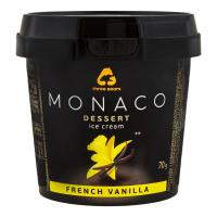 Морозиво Три ведмеді Monaco Французька ваніль 70г х6