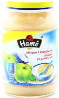 Пюре Hame яблуко з вершками 190г х10