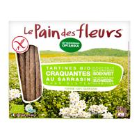 Хлібці LePaindesFleurs органічні безглютен.з гречки 150г