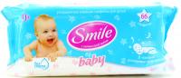 Дитячі серветки вологі гігієнічні Smile Baby, 66 шт.