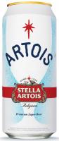 Пиво Stella Artois світле фільтроване 5% 0.5л ж/б