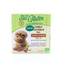 Печиво Gluten бісквітне з какао органічне 200г