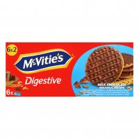 Печиво McVitie`s пшеничне в молочному шоколаді 6*33,3г