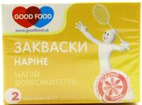 Закваска Good Food Наріне бактеріальна суха 2*1г х6