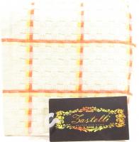Рушник Zastelli махровий Мозаїка 70*140см біл. х6