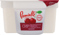Сир зернистий Premialle вишня 7% 150г