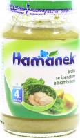 Пюре Hame Hamanek кролик зі шпинатом та картоплею 190г х6