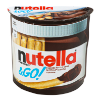 Паста Nutella горіхова з какао та хлібні палички 52г