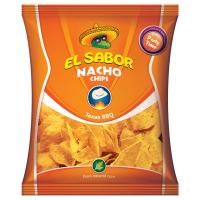 Чіпси El Sabor кукурудзяні зі смаком барбекю 225г