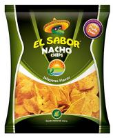 Чіпси El Sabor кукурудзяні зі смаком перцю халапеньйо 225г