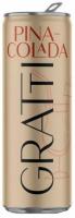 Напій слабоалкогольний Gratti Pina-Сolada слабогазований 4,5% 250мл з/б