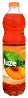 Напій Fuze tea чорний чай зі смаком персика 1,5л