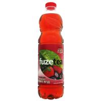 Напій Fuze tea чорний чай зі смаком лісових ягід 1,5л