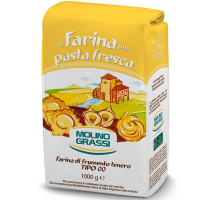 Борошно Molino Grassi пшеничне для пасти та равіолі 1кг