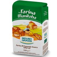 Борошно La Farina Manitoba з мяких сортів пшениці 1кг