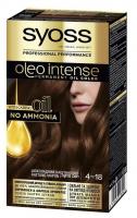 Крем-фарба Syoss Oleo Intense 4-18 шоколадний каштановий