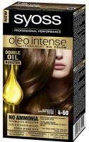 Фарба д/волосся Syoss Oleo Intense 4-60 Золотистий каштановий