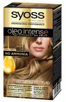 Фарба для волосся Syoss Oleo Intense 7-10 світло-русявий