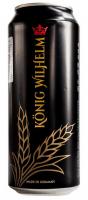 Пиво Konig Wilhelm з/б 0.5л