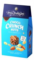 Цукерки Millennium Choco crunch арахіс, рис. кульки 100г