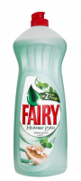"""Рідкий засіб для миття посуду Fairy Ніжні Руки """"Чайне дерево та м'ята"""", 1000 мл"""