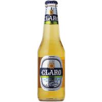 Пиво Claro світле с/б 0,33л х24