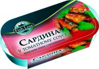 Сардина FishLine у томатному соусі 125г
