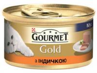 Корм Gourmet Gold для котів Індичка 85г