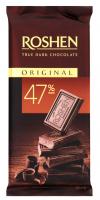 Шоколад Roshen Original чорний 85г