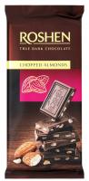 Шоколад Roshen True Dark Chopped Almonds 85г