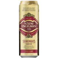 Пиво Volfas Engelman Bohemijos Tamsusis ж/б 0.568л х6