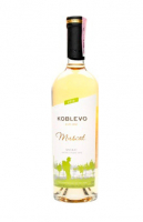 Вино Koblevo Muscat біле напівсолодке 1л