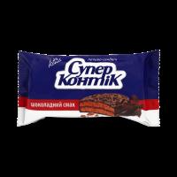 Печиво Конті Супер-Контік Шоколадний смак 100г