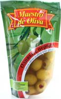 Оливки Maestro de Oliva з перцем п/пак 170г
