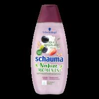 Шампунь для дуже сухого та виснаженого волосся Schauma Nature Moments Інтенсивне Живлення мигдаль+овес+асаї, 400 мл