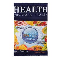 Сіль для ванн з піною Cristals Health Тропічна насолода 600г