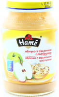 Пюре Hame Яблуко з овсян. пластівцями 190г х10
