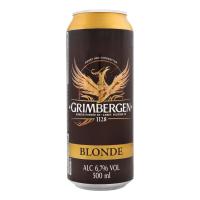 Пиво Grimbergen Blonde ж/б 0,5л х24