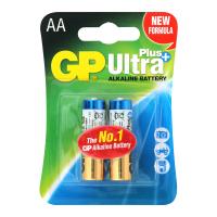 Батарейка GP ULTRA+ALKALINE 1.5V 15AUPHM-2UE2, LR6, АА блістер
