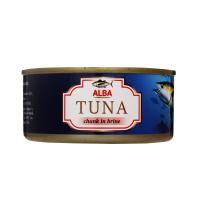 Тунець Alba Food цілий у власному соку ж/б 150г х48